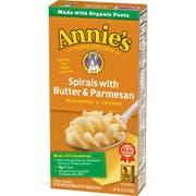Annies Homegrown Spirals with Butter and Parmesan Macaroni and Cheese, 5.25 Ounce -- 12 per case