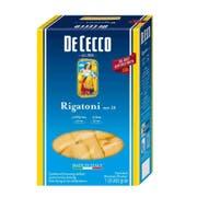 Dececco Enriched Macaroni Rigatoni, 1 Pound -- 12 per case.