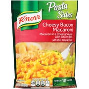 Knorr Pasta Sides Cheesy Bacon Macaroni Side Meal, 3.8 Ounce -- 8 per case.