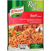 Knorr Rice Sides Beef Side Meal, 5.5 Ounce -- 8 per case.