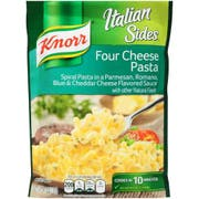 Knorr Italian Sides Four Cheese Pasta Side Meal, 4.1 Ounce -- 8 per case.