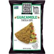 Food Should Taste Good Guacamole Tortilla Chips, 5.5 Ounce -- 12 per case