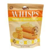 Cello Whisps Cheddar Cheese Crisps, 2.12 Ounce -- 12 per case.