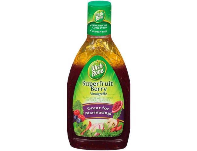 Wish Bone Superfruit Berry Vinaigrette Dressing, 15 Fluid Ounce -- 6 per case.