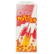 Great Western Action Popcorn Bag, 8 inch -- 1000 per case.