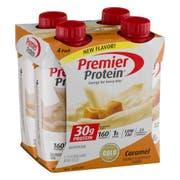 Premier Protein Caramel Shake - Dream Cap, 11 Fluid Ounce -- 12 per case.