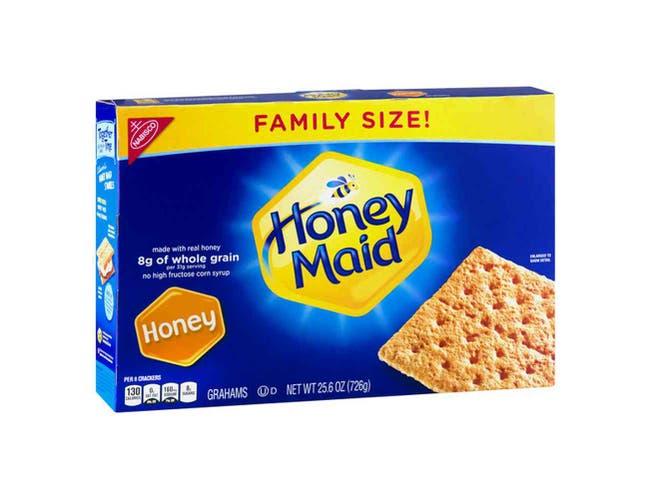 Nabisco Honey Maid Graham Cracker, 25.6 Ounce -- 6 per case.