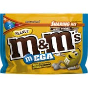 M and Ms Peanut Chocolate Candy, 9.6 Ounce -- 8 per case.