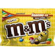 M and Ms Peanut Chocolate Candy, 10.7 Ounce -- 12 per case.