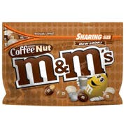 M and Ms Coffee Nut Peanut Chocolate Candy, 9.6 Ounce -- 8 per case.