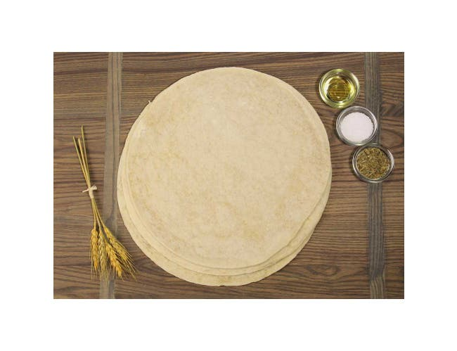 Ultra Thin Crust Traditional Pizza Crust, 8 inch -- 25 per case.