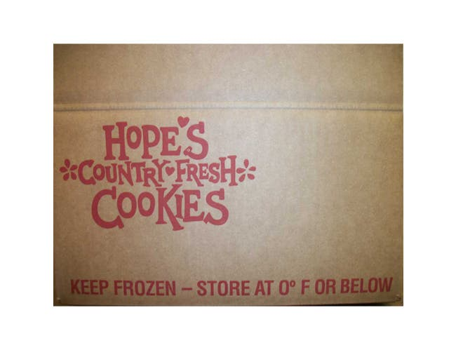 Hopes Homestyle Almond Shortbread Cookie Dough, 1.5 Ounce -- 213 per case.
