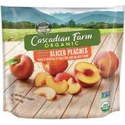 Cascadian Farm Organic Sliced Peach, 10 Ounce -- 12 per case