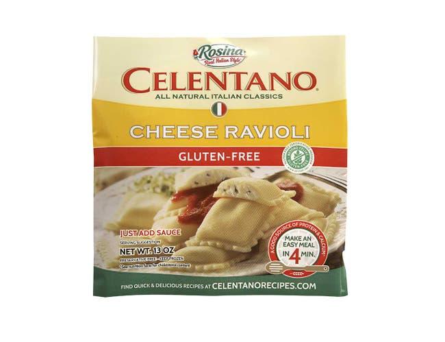 Celentano Gluten Free Pre Cooked Cheese Ravioli, 13 Ounce -- 12 per case.