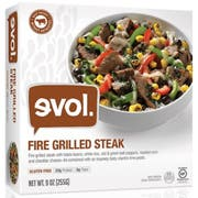 Evol Fire Grilled Steak Single Serve Meal, 9 Ounce -- 8 per case.