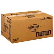 Kraft Philadelphia Cream Cheese - Carton, 50 Pound -- 1 each.