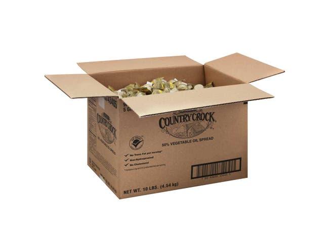 Country Crock Margarine, 5 Gram -- 900 per case.