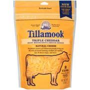 Tillamook Farmstyle Triple Shredded Cheddar Cheese, 8 Ounce -- 12 per case.