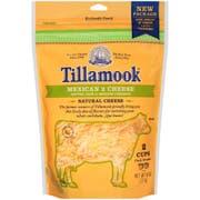 Tillamook Mexican 2 Farmstyle Shredded Cheese, 8 Ounce -- 12 per case.