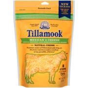 Tillamook Farmstyle Mexican 4 Shredded Cheese, 8 Ounce -- 12 per case.