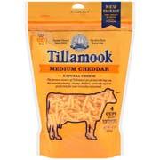Tillamook Farmstyle Medium Shredded Cheddar Cheese, 16 Ounce -- 12 per case.