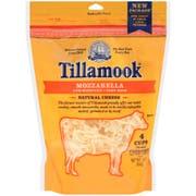 Tillamook Farmstyle Mozzarella Shredded Cheese, 16 Ounce -- 12 per case.