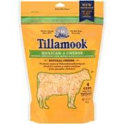 Tillamook Mexican 4 Farmstyle Shredded Cheese, 16 Ounce -- 12 per case.