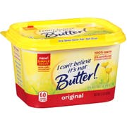 I Cant Believe Its Not Butter Original Yellow Spread, 15 Ounce -- 12 per case.