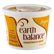 Earth Balance Original Buttery Spread, 45 Ounce -- 6 per case.