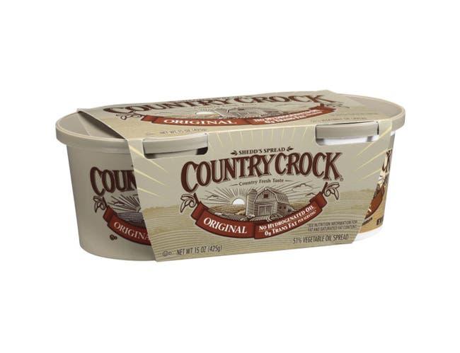 Country Crock Original Vegetable Oil Spread, 7.5 Ounce -- 12 per case.