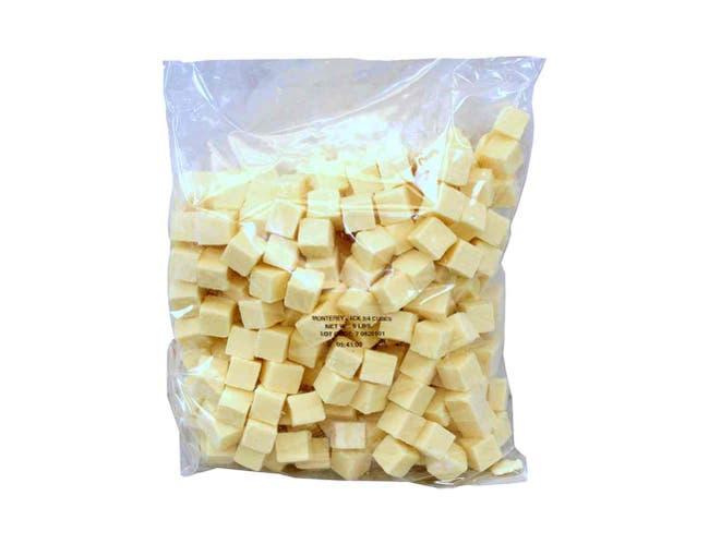 Arthur Schuman Monterey Jack Cheese Cube, 5 Pound -- 2 per case.