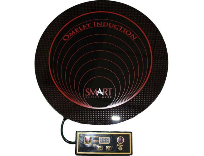 Smart 230V Induction Omelet Cooker, 11.25 x 11.25 x 3 inch -- 1 each.
