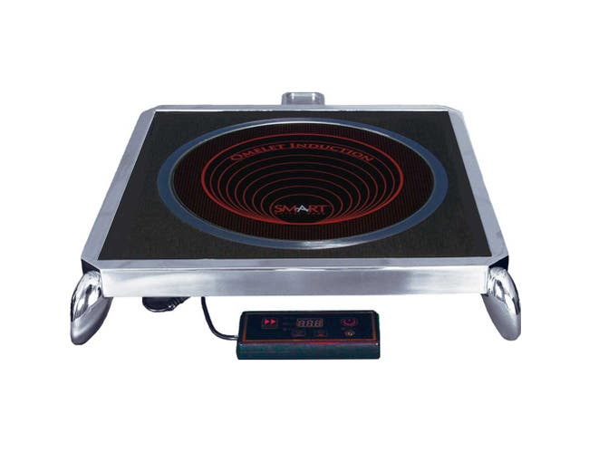 Smart 230V Induction Omelet Cooker Stand Set 15 x 15 x 5 inch, 15 x 15 x 5 inch -- 1 each.