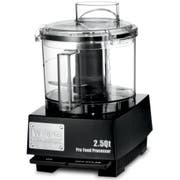 Waring Commercial Flat Cover Batch Bowl Food Processor with LiquiLock Seal System, 2.5 Quart -- 1 each.