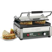 Waring Commercial Panini Supremo Large Grooved Panini Grill with Timer, 208 Volts -- 1 each.