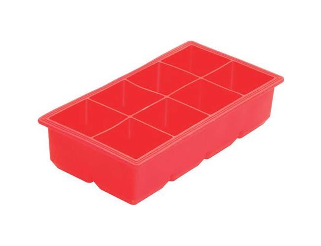 Winco Silicone 8 Compartments Ice Cube Tray -- 12 per case.