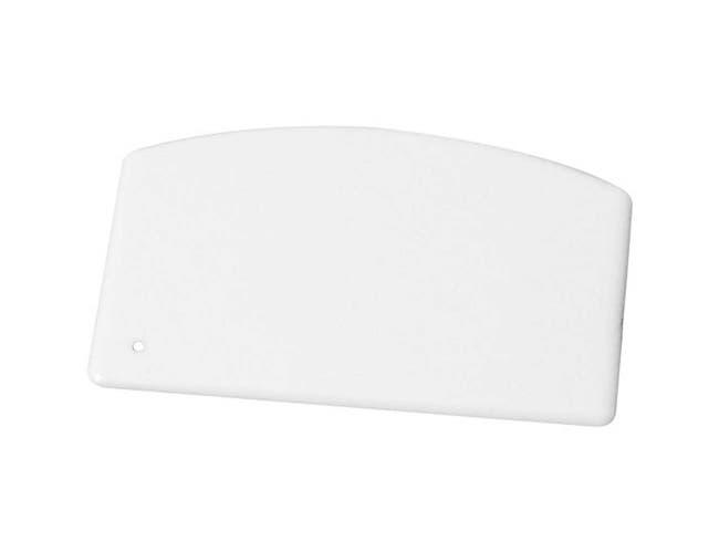 Winco Plastic Dough Scraper, 5 1/2 x 3 3/4 inch -- 12 per case.