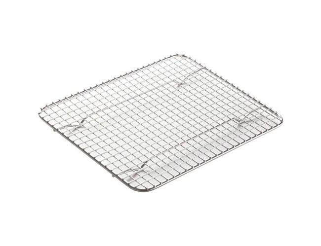 Winco Stainless Steel Pan Grate for Half Size Steam Pan, 10 x 18 inch -- 12 per case.