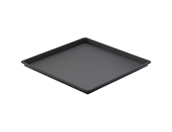 Winco Heavyweight Rolled Steel Sicilian Pizza Pan with Non Stick Coating , 16 x 16 x 1 inch -- 4 per case.