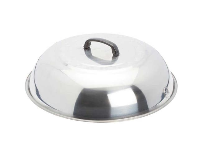 Winco Stainless Steel Mirror Finish Wok Cover, 17 3/4 inch -- 12 per case.