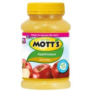 Motts Natural Apple Sauce, 23 Ounce Pet Jar -- 12 per case.