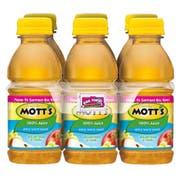 Motts 100 Percent Apple White Grape Juice, 8 Fluid Ounce  -- 24 per case