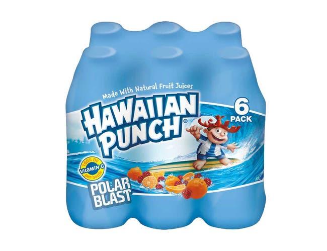 Hawaiian Punch - Polar Blast, 10 Fluid Ounce -- 24 per case.