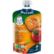 Gerber 2nd Foods Organic Apple Carrots and Squash Baby Food, 3.5 Ounce -- 12 per case.