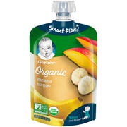 Gerber 2nd Foods Organic Bananas and Mangoes Baby Food, 3.5 Ounce -- 12 per case.