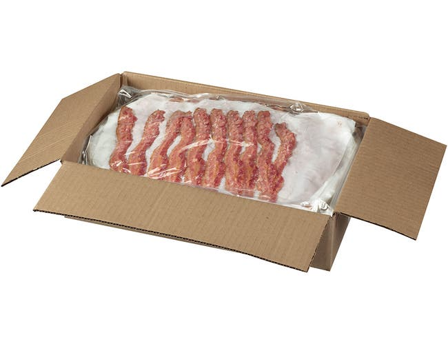 Tyson Applewood Smoked Sliced Bacon - 100 per pack -- 3 packs per case.