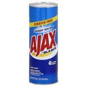 Ajax Scourer Powder Cleanser with Bleach, 21 Ounce -- 20 per case.