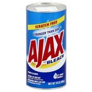 Ajax Scourer Powder Cleanser with Bleach, 14 Ounce -- 24 per case.