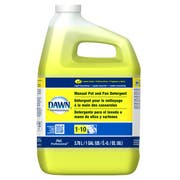 Dawn Lemon Scent Pot and Pan Detergent Liquid, 1 Gallon -- 4 per case.