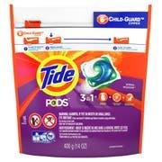 Tide Pods Spring Meadow Laundry Detergent Liquid, 16 count per pack -- 6 per case.